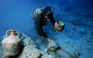 Находки подводных археологов — интересно, опасно, увлекательно
