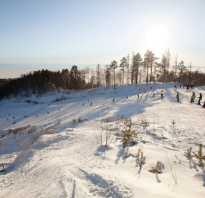 Истлэнд – горнолыжный курорт на берегу Байкала