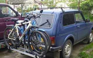Как сделать крепление для велосипеда на автомобиль своими руками