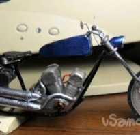 Как сделать мотоцикл из проволоки