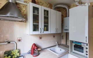Ремонт кухни с колонкой. Кухня в хрущевке с газовой колонкой. Виды газовых колонок