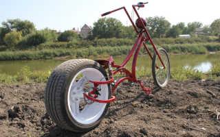 Велочоппер — крутой, удобный, оригинальный