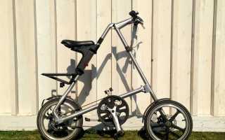 Обзор складного велосипеда Strida 5.2