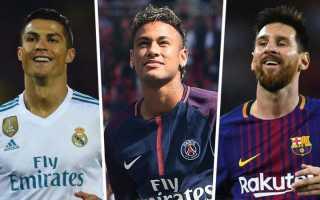 Сколько зарабатывают 10 самых богатых футболистов Европы?