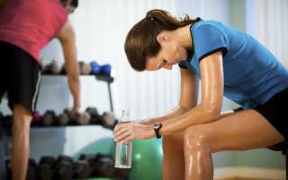 Что делать при приступе слабости во время тренировок в тренажерном зале