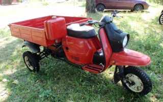 Как выглядит мотоцикл муравей