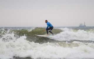 В Зеленоградске пройдёт Чемпионат России по сёрфингу