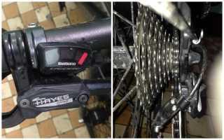 Ремонт переключателя скоростей на велосипеде