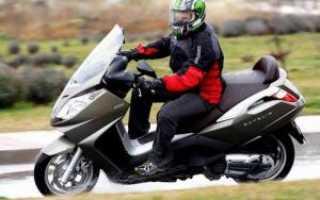 Как проходить обкатку на скутере