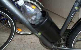 Как сделать держатель для бутылки на велосипед своими руками