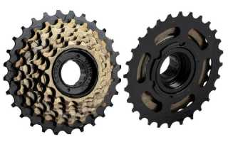 Как кассету отличить от трещотки на велосипеде