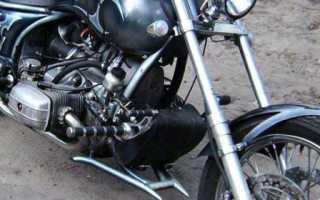 Как сделать руль на мотоцикл чоппер своими руками