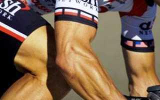 Велосипед какие мышцы тренирует