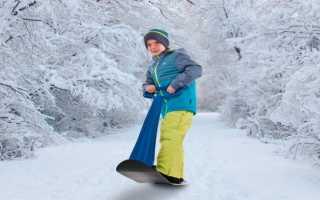 Как выбрать сноуборд и одежду для ребенка
