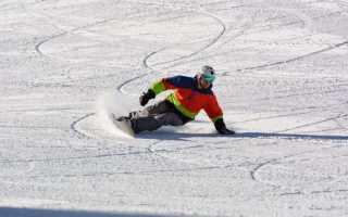 Карвинг на сноуборде – учебное видео (4)