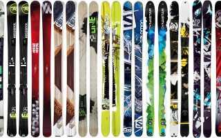 Правила подбора оптимальной пары горных лыж для взрослых и детей