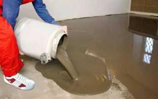 Как сделать пол на цементной основе. Цементные полы – особенности и преимущества. Достоинства и недостатки цементной самовыравнивающейся стяжки