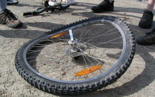 Яйцо на колесе велосипеда как исправить