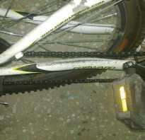 Как сделать защиту велосипедной цепи своими руками