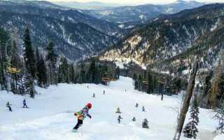 Где покататься на горных лыжах на Алтае