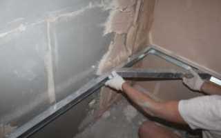 Чем лучше выровнять стены в ванной. Как и чем правильно выровнять стены в ванной под плитку. Как правильно выровнять стены в новостройке