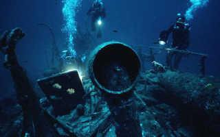 Дайвинг в Крыму: затонувшие корабли Черного моря