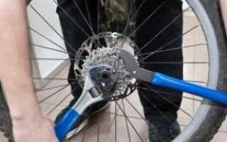 Как снять звездочку с заднего колеса велосипеда без съемника