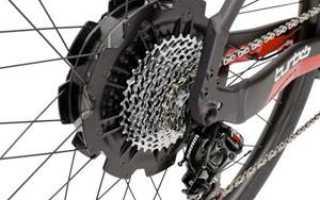 Как снять заднее колесо на велосипеде с ободными тормозами