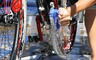Как почистить велосипед