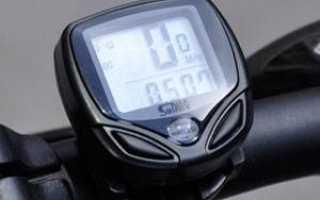 Как настроить для велосипеда спидометр