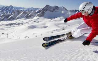 Определение жёсткости горных лыж