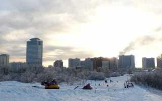 Лата-трэк – горнолыжный курорт в Москве