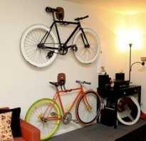 Как разместить велосипед в маленькой квартире