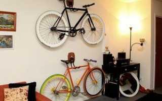 Как хранить велосипед дома лайфхакер