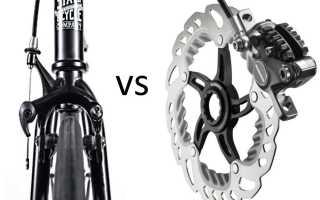 Выбор между дисковыми и ободными тормозами для велосипеда