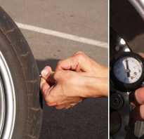 Какое давление в шинах мотоцикла