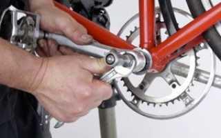 Как настроить каретку на велосипеде