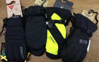 Выбор лучших перчаток для лыж и сноубордов