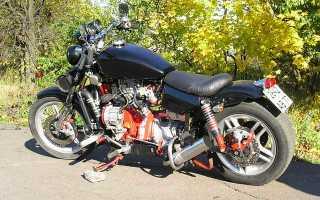 Как установить двигатель с оки на мотоцикл урал