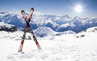 Летнее хранение горных лыж