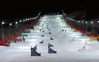 В Бад-Гаштайне прошёл этап Кубка мира по сноуборду