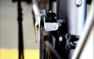 Как отрегулировать передний переключатель на велосипеде