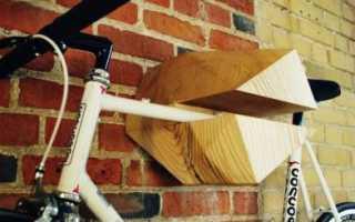 Как повесить велосипед
