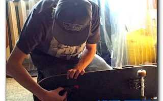 Самостоятельное изготовление скейтборда