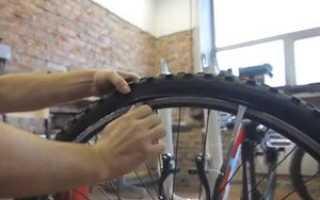 Как проверить спущено ли колесо на велосипеде