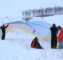 Зимний парапланеризм