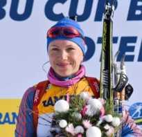 Когда начнется биатлон состав. Лучшей из россиянок стала Анастасия Загоруйко