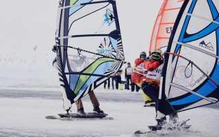 В Финляндии проходит ЧМ по зимним видам парусного спорта