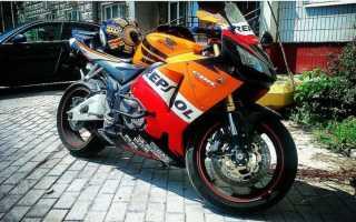 Хонда сбр 600 рр как первый мотоцикл