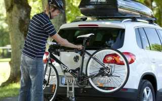 Как сконструировать багажник для перевозки велосипеда